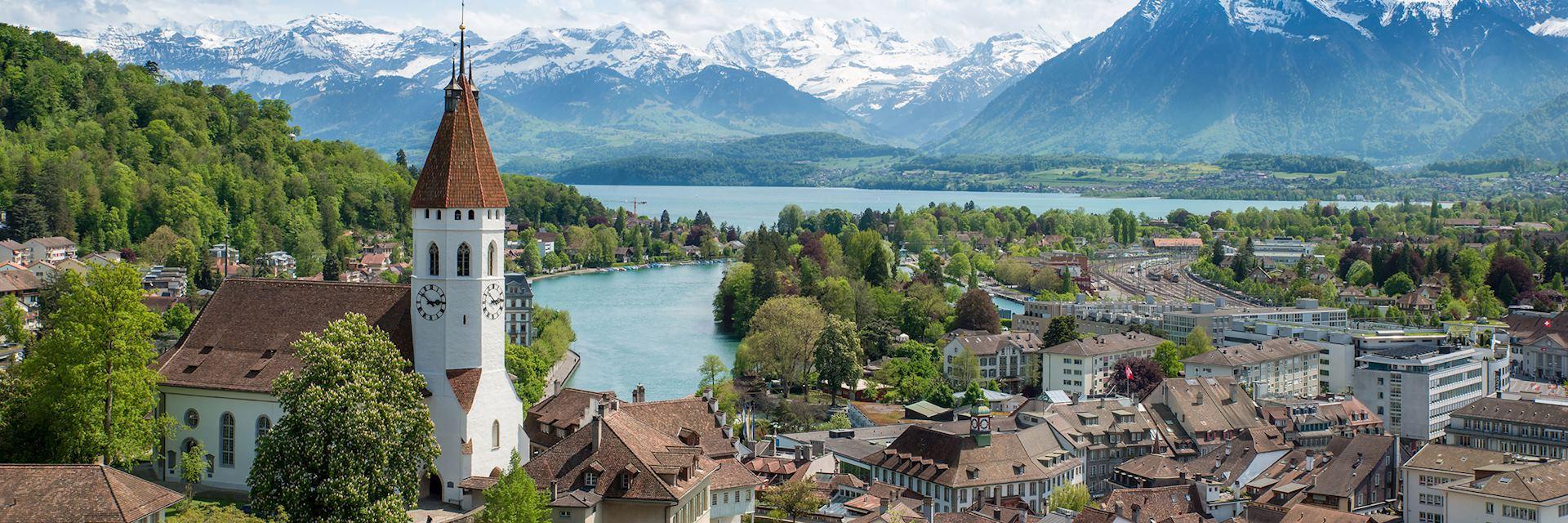 Historic city of Thun, Bern, Switzerland