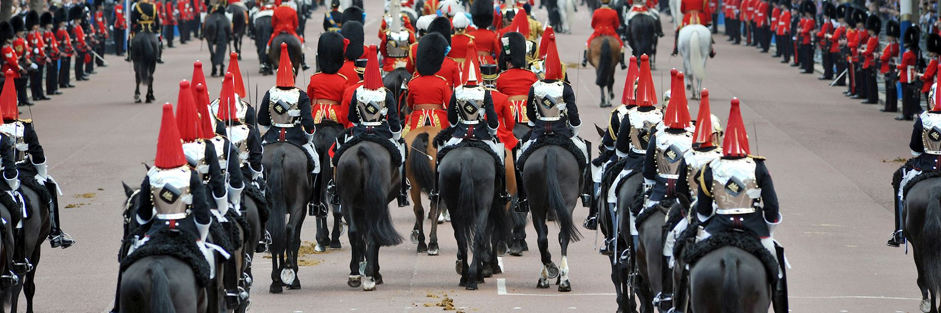 Horseguards on parade, London