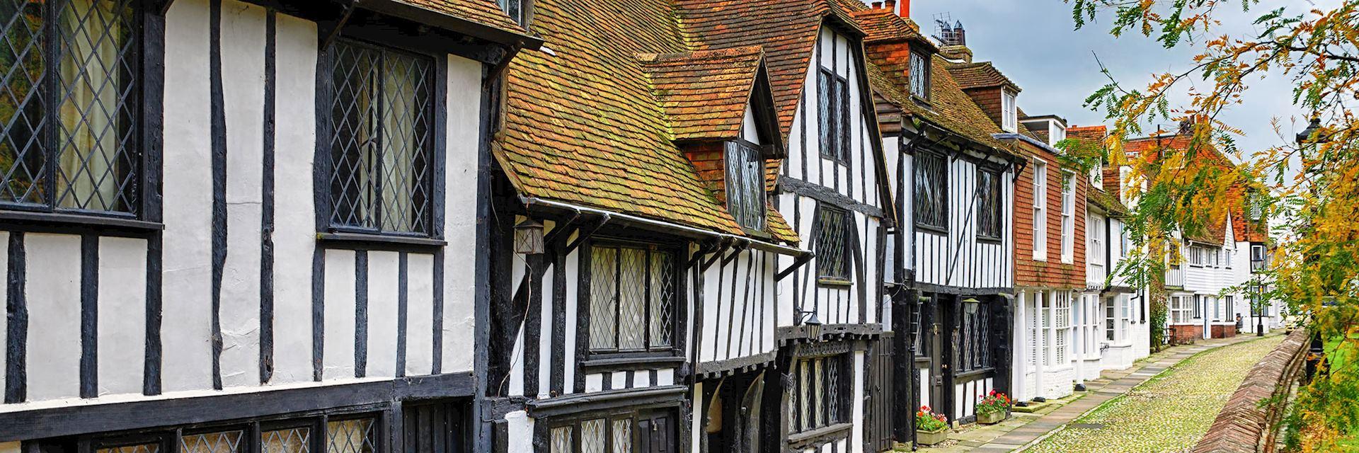 Street of quaint houses, Rye