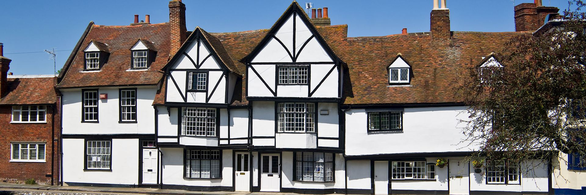 Medieval houses in Canterbury