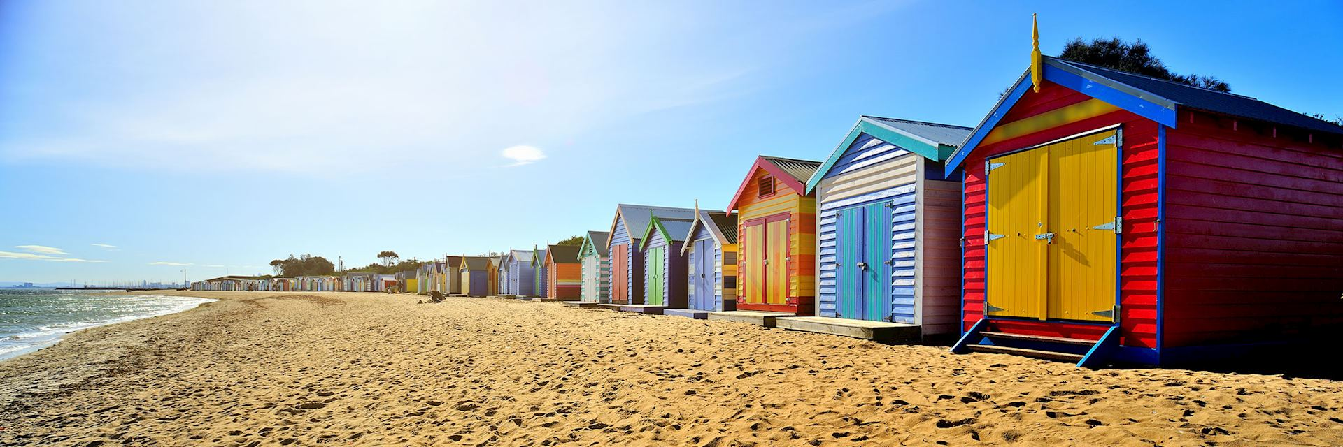 Beach huts, Brighton