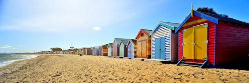 Beach huts, Brighton