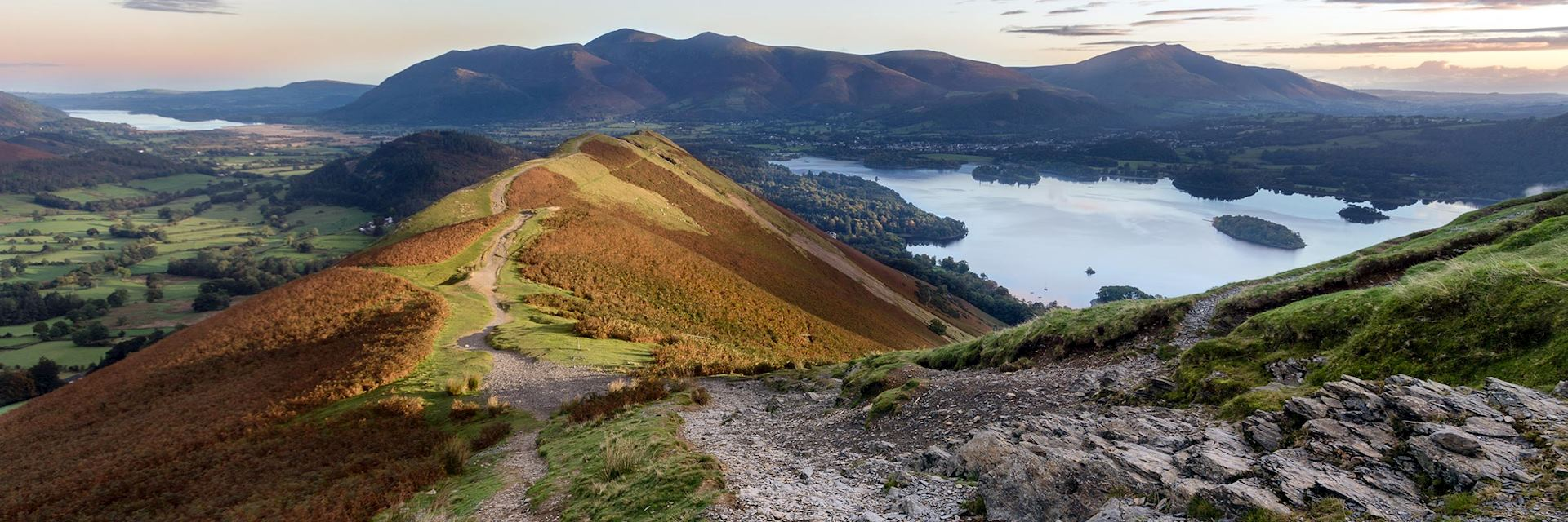 Cat Bells, the Lake District