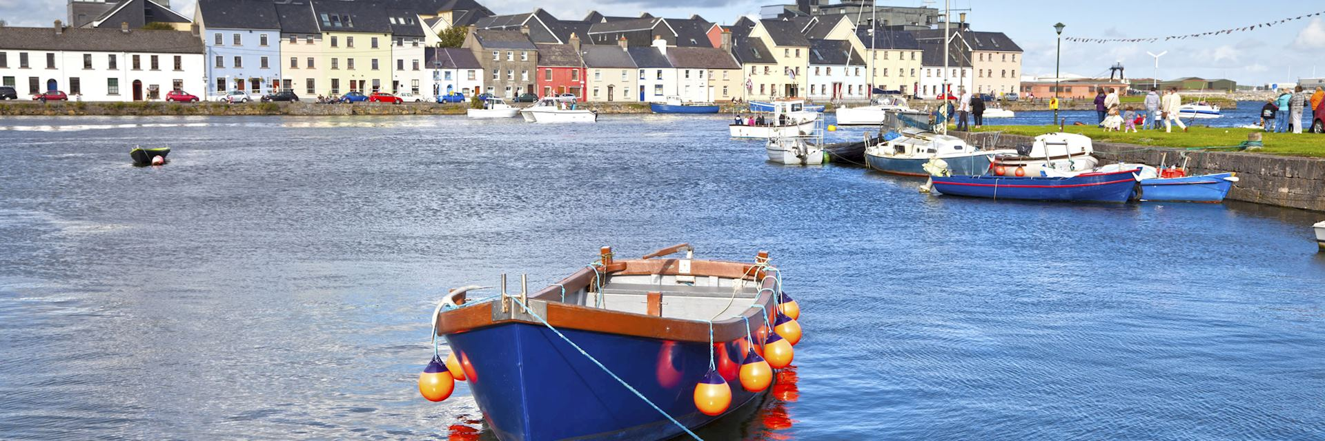 Boat in Galway Bay