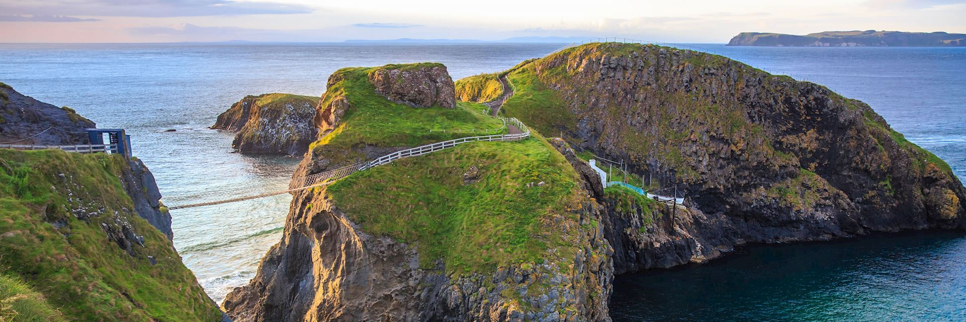 Carrick-a-Rede Rope Bridge, near Ballintoy in County Antrim