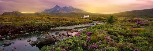 Sligachan River, Scottish Highlands