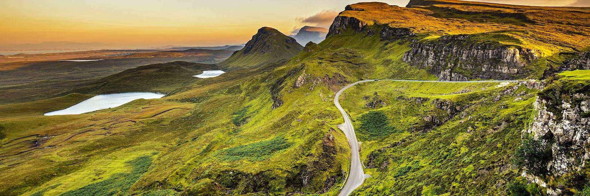 Quiraing Mountains, Scotland