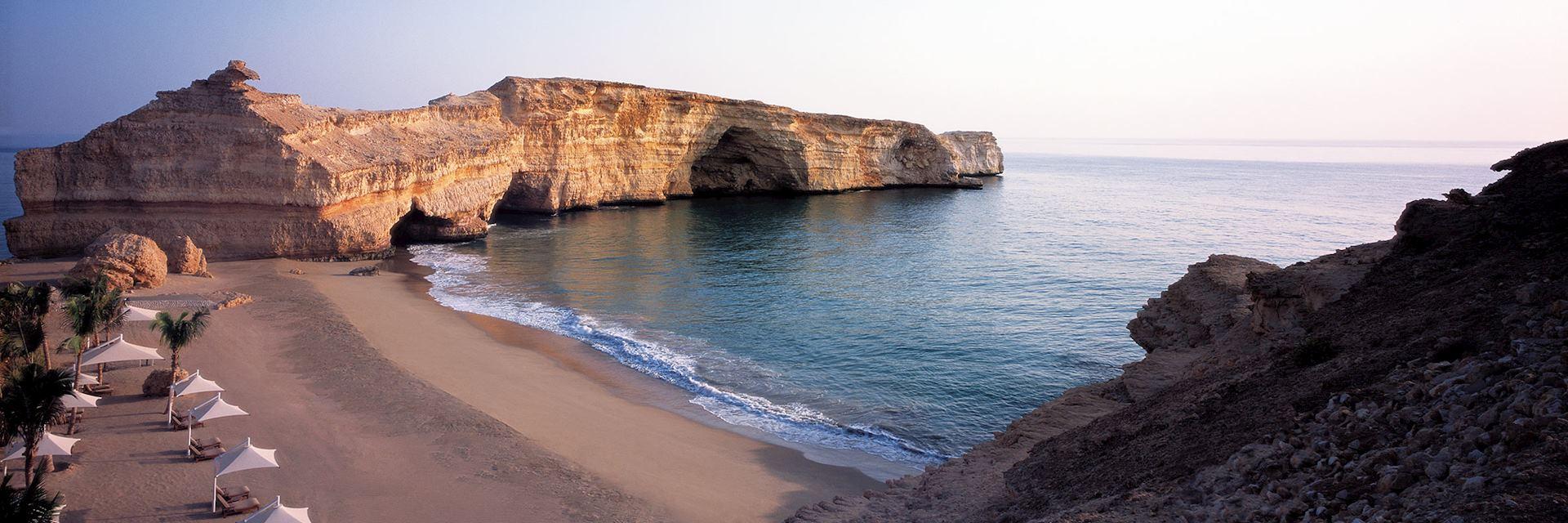 Beach at Shangri-La Barr al Jissah - Al Husn, Oman