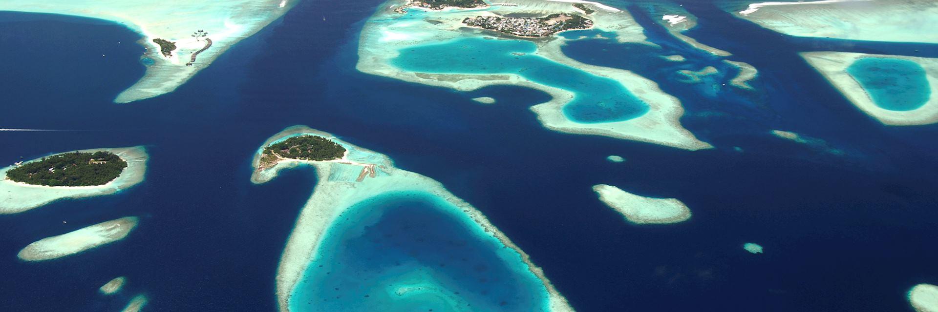 Atolls, the Maldives