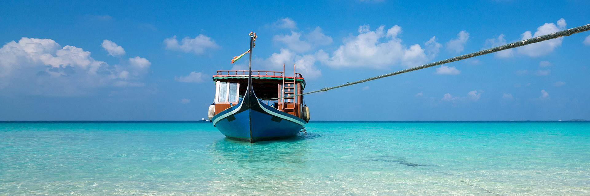 Fishing boat, the Maldives