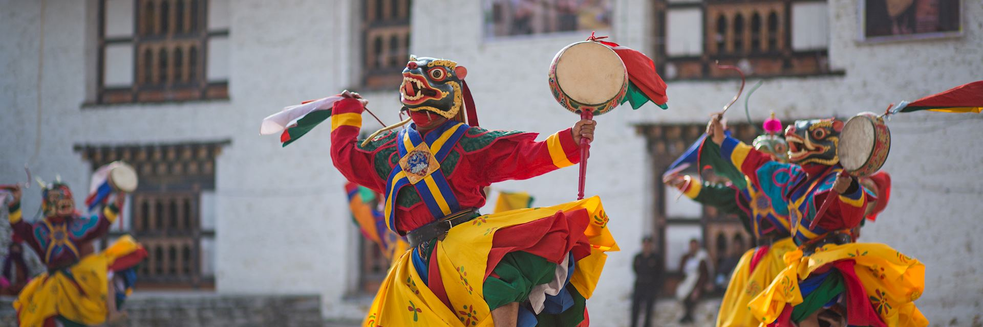 Traditional dance in Bhutan