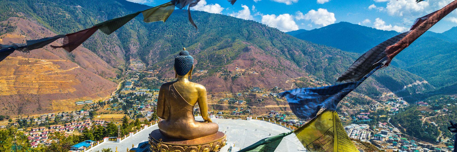 Golden Buddha near Thimphu