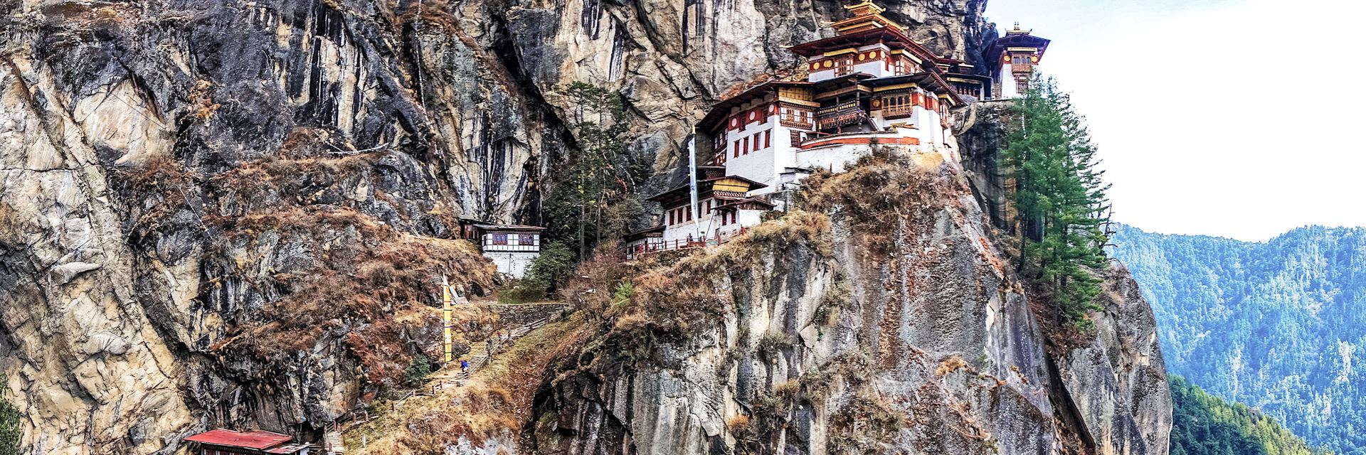 Taktshang, the Tiger's Nest Monastery