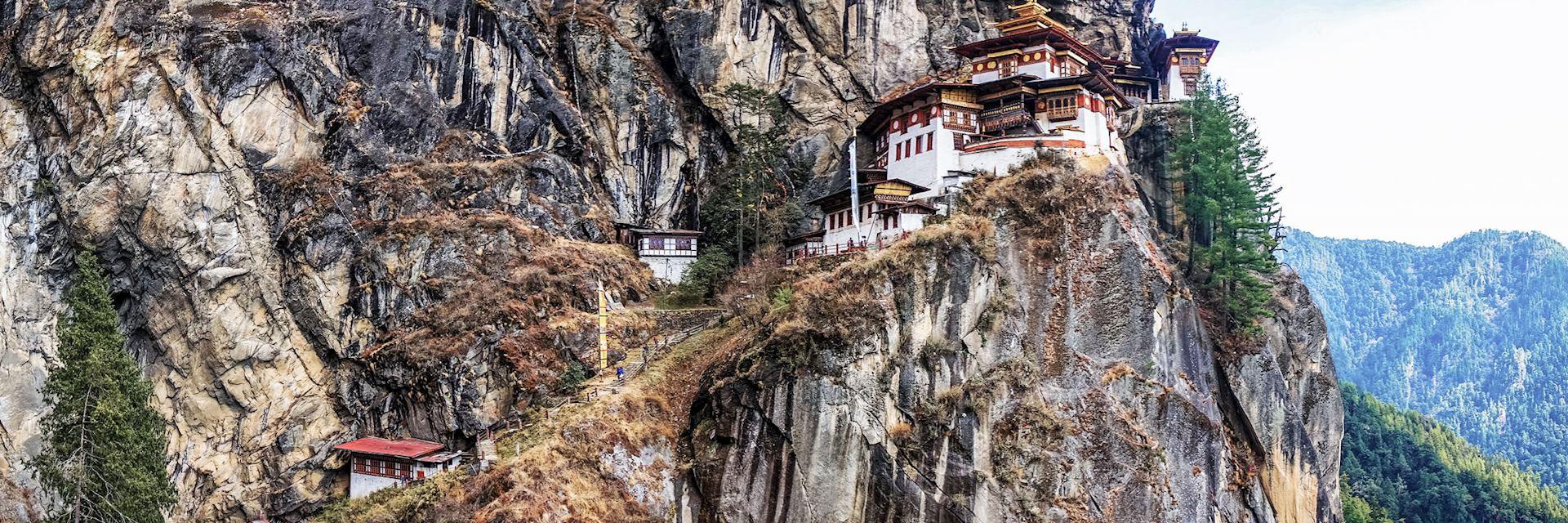 Taktshang, the Tiger's Nest Monastery