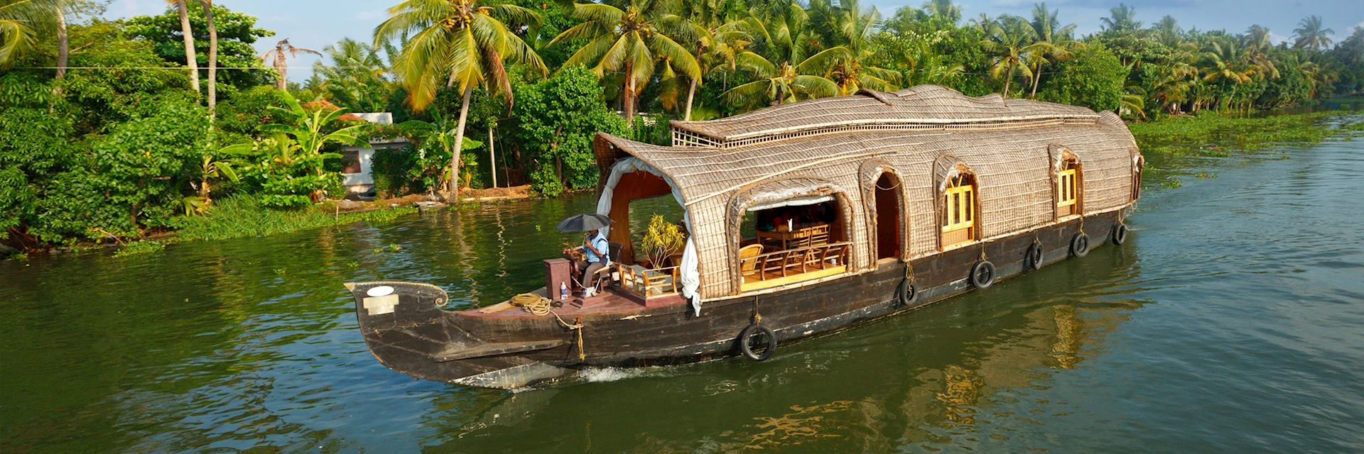 Keralan Houseboats (Rice barges)