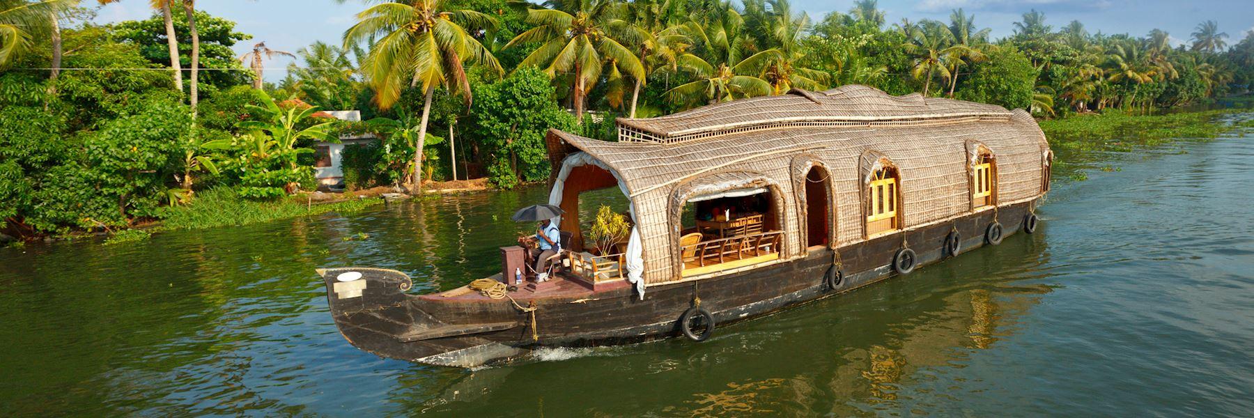 Keralan Houseboats (Rice barges)