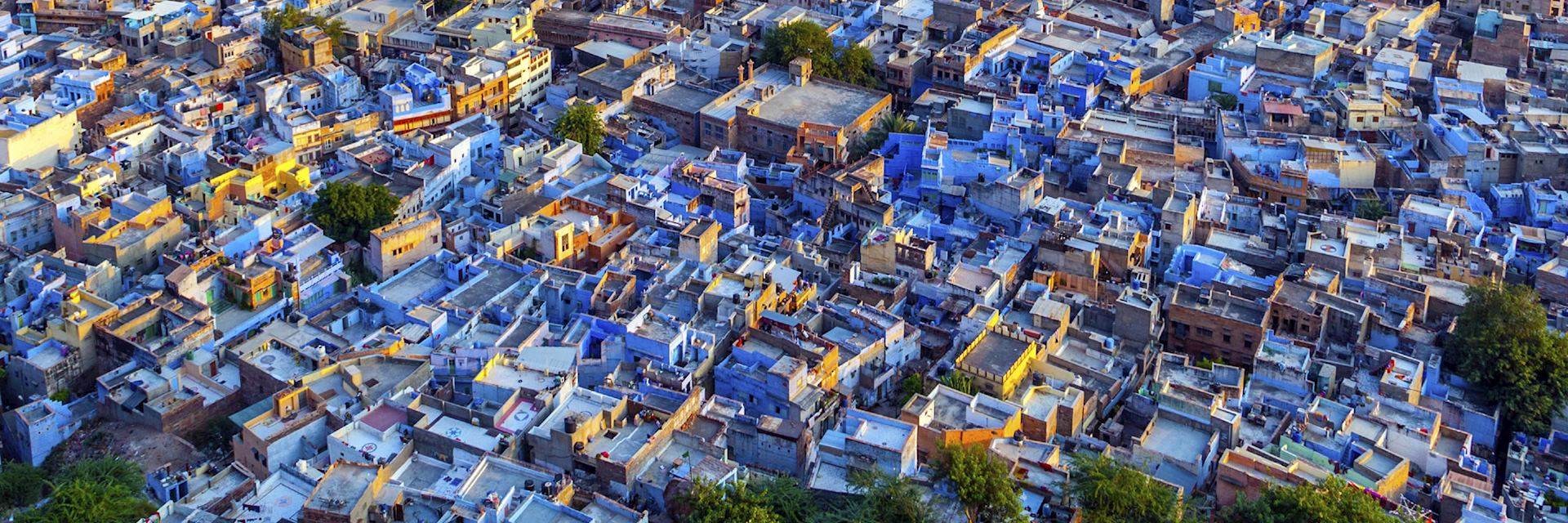 The blue city of Jodhpur, Rajasthan