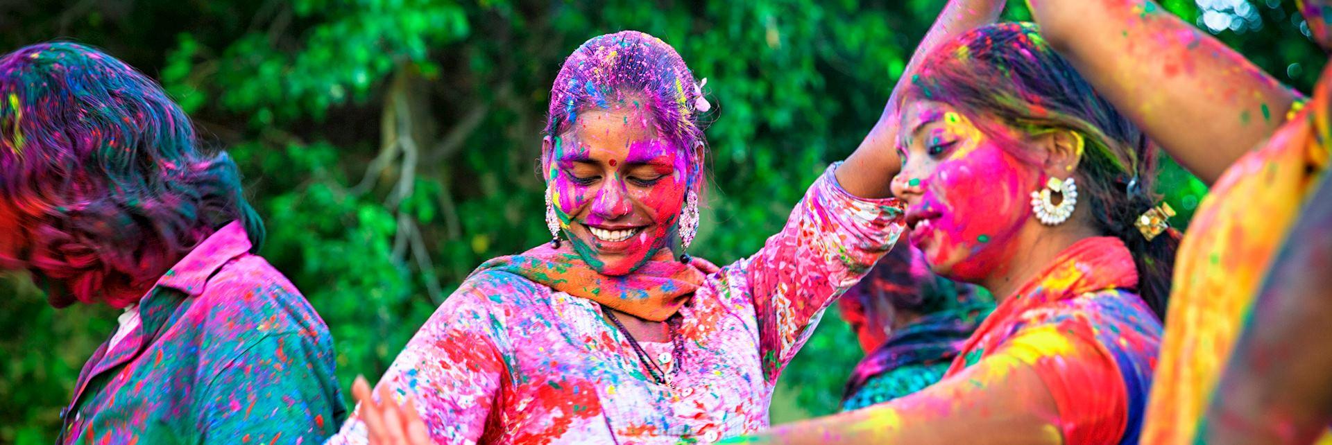 Celebrating Holi in Rajasthan