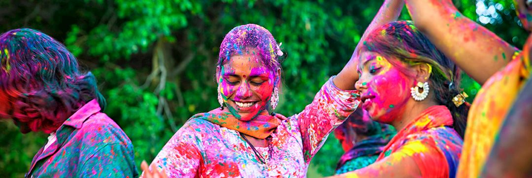 Celebrating Holi in Rajasthan