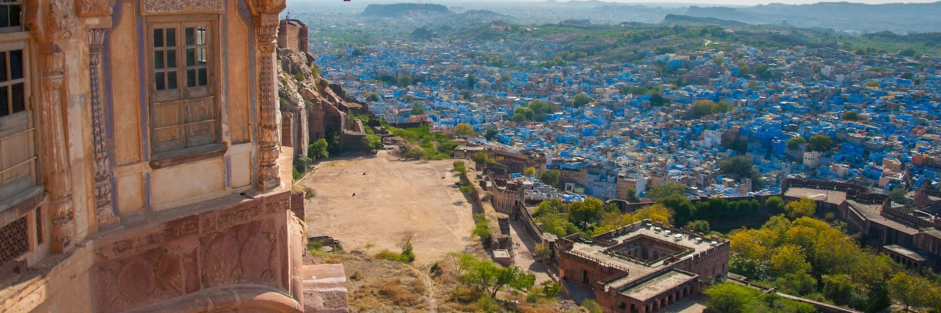 Jodhpur viewed from Mehrangarh Fort, India