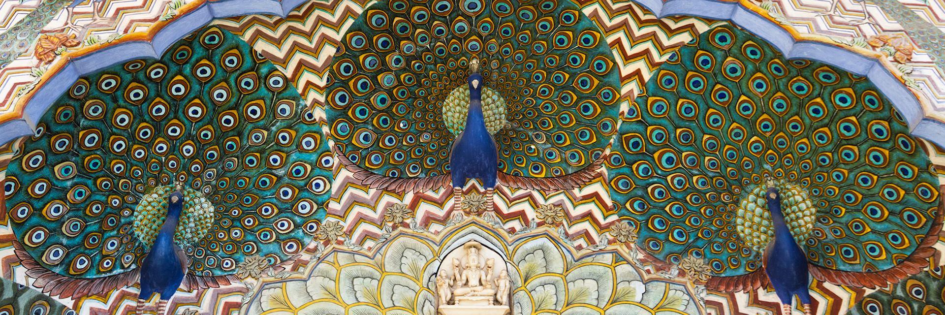 Jaipur City Palace art work