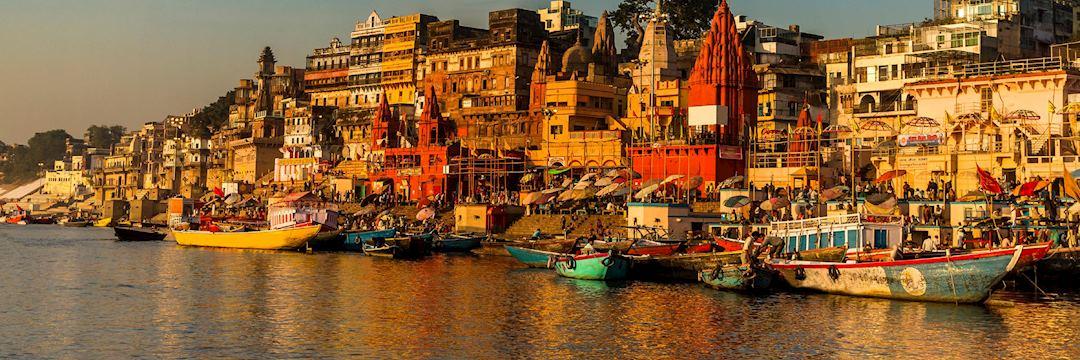 The holy city of Varanasi, India