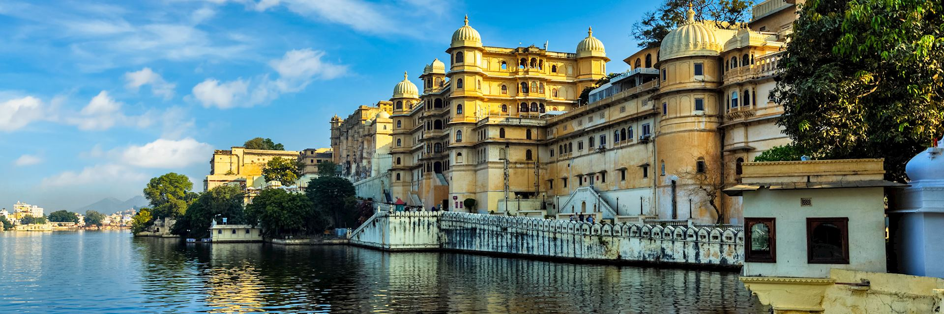 The City Palace in Udaipur