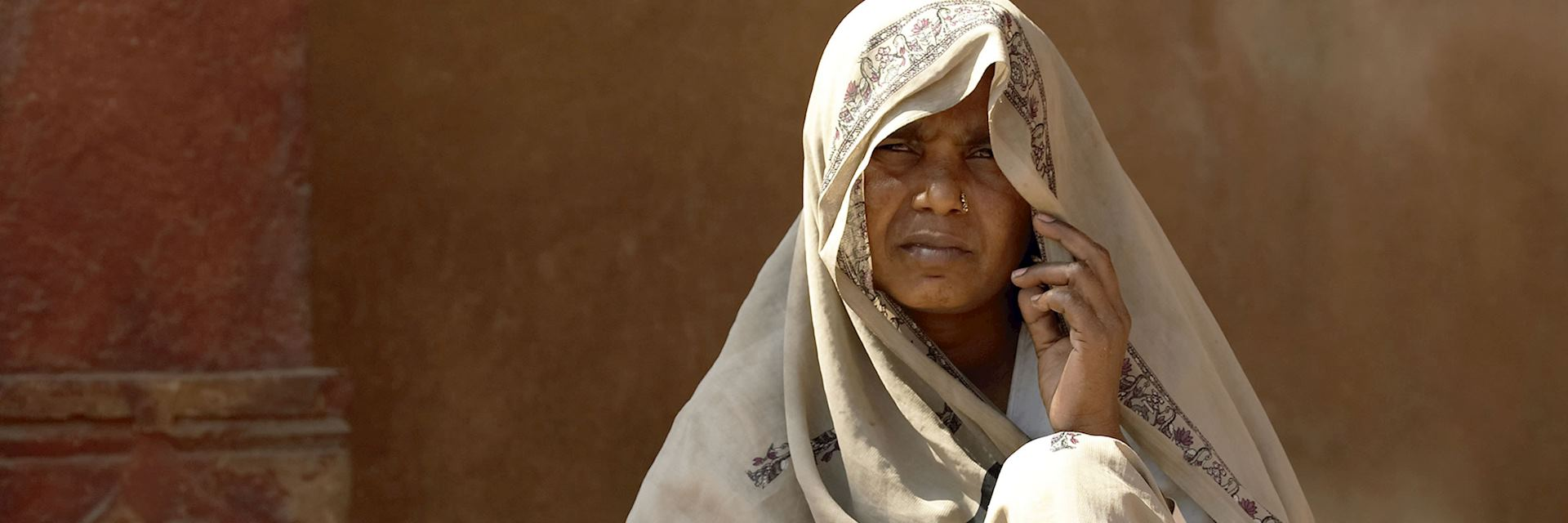 Local women in Agra