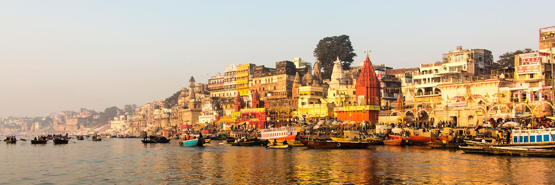 Life on the Ganges in Varanasi