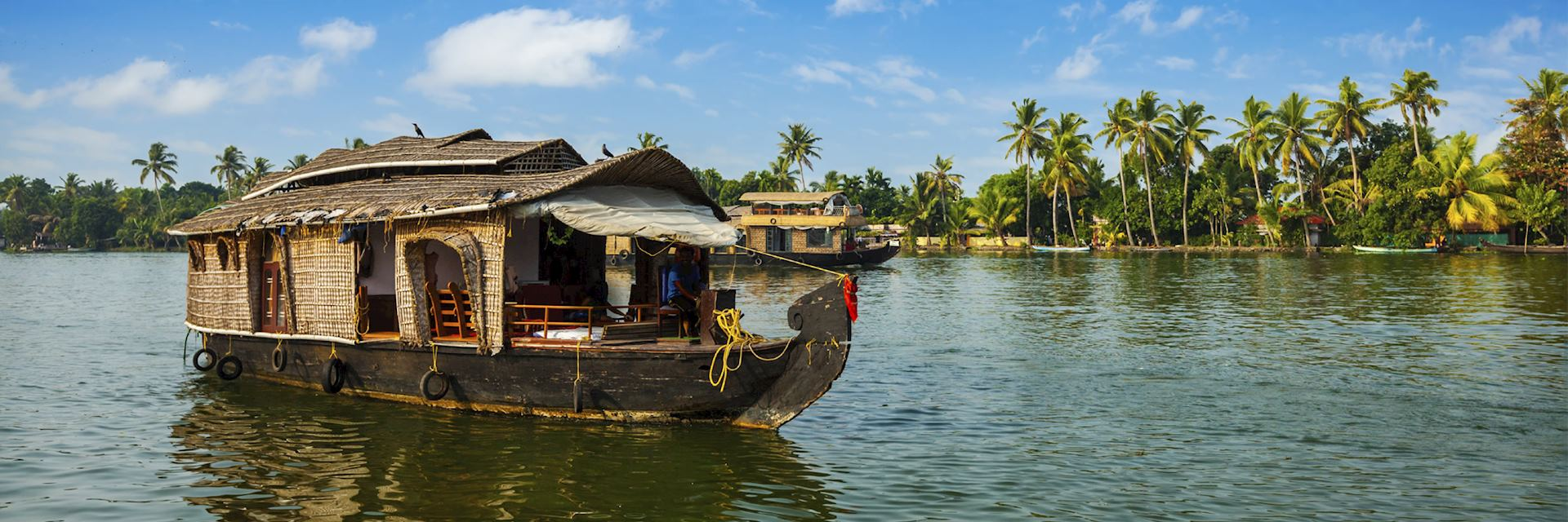 Houseboat on the Kerala backwaters