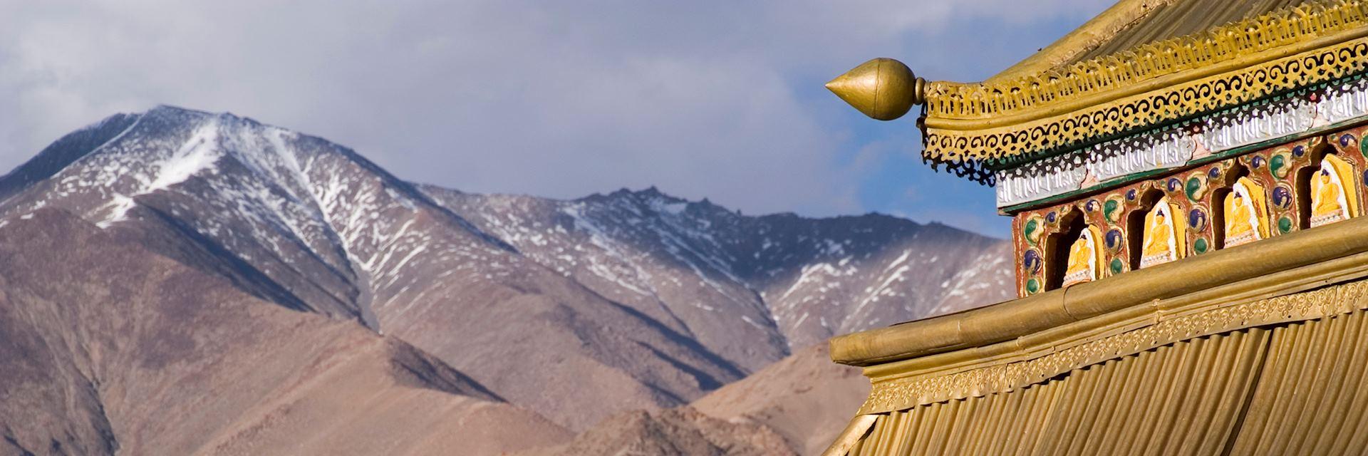 Monastery in Leh, Ladakh, northern India