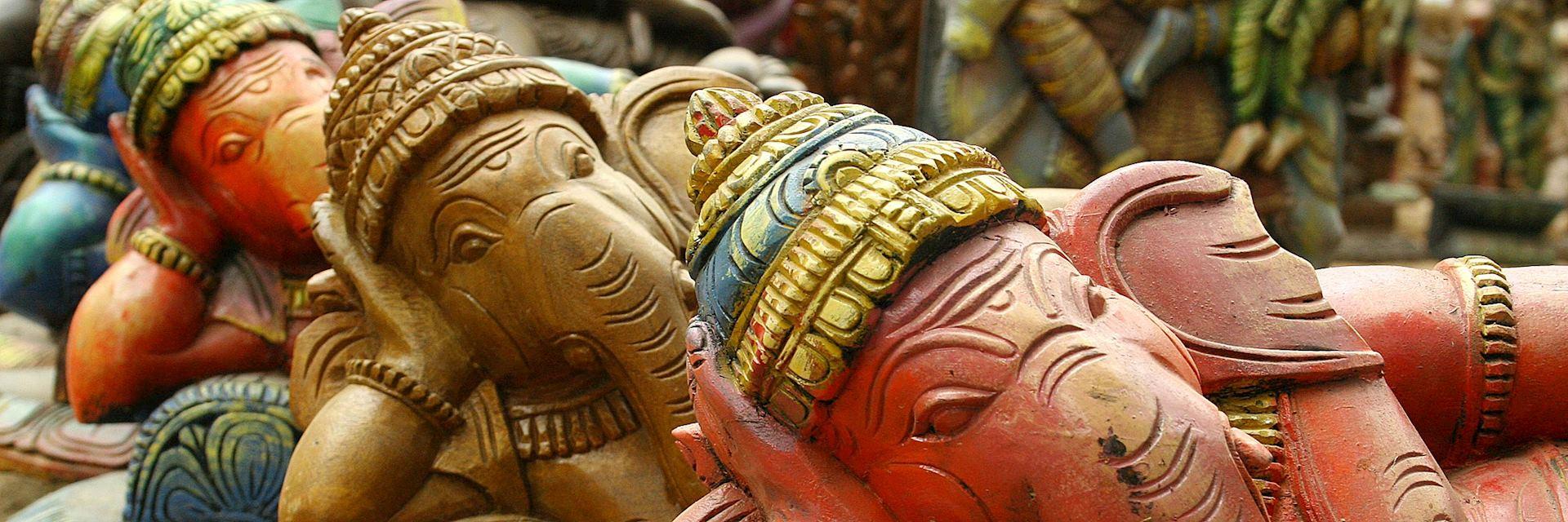 Hindu elephants in Chennai