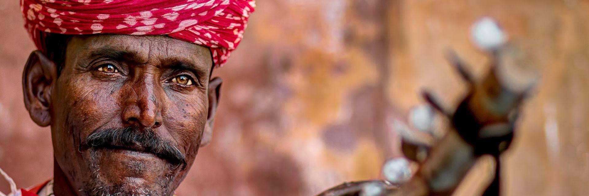 Old Indian man in Jaipur