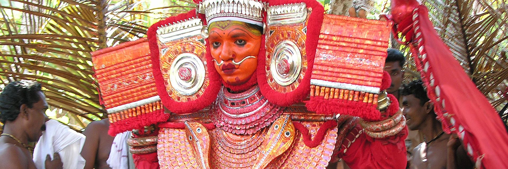 Theyyam dancer, Tellicherry
