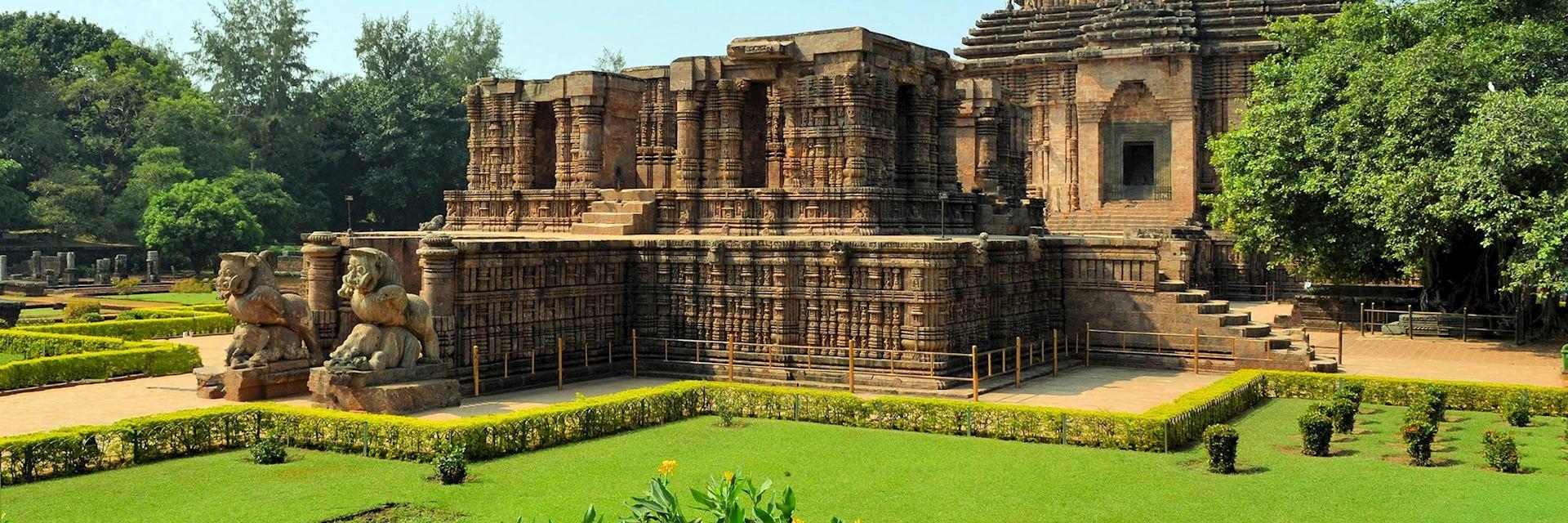 Sun Temple at Konark, Orissa