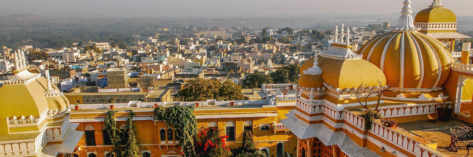 Deogarh skyline