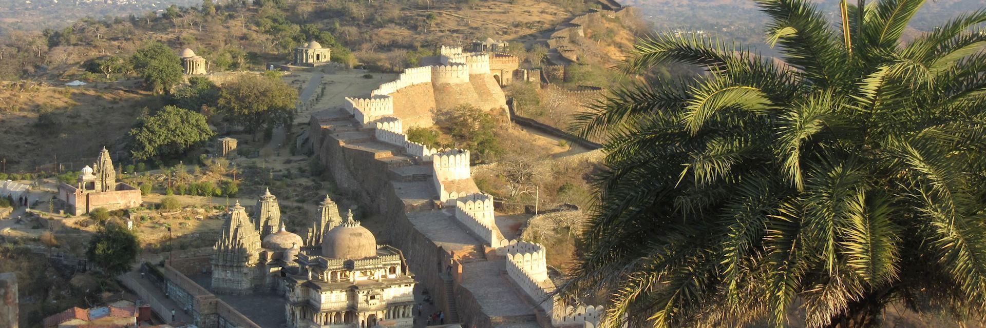 Kumbhalgarh Fortress in Chanoud, Rajasthan