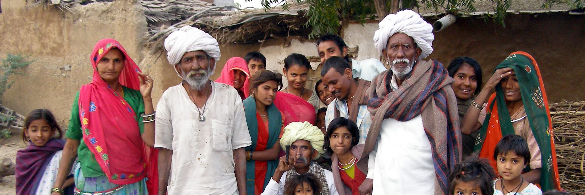 Villagers in Barli