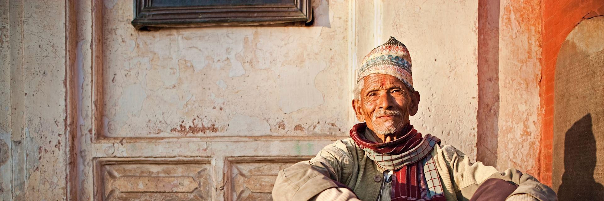 Nepalese man