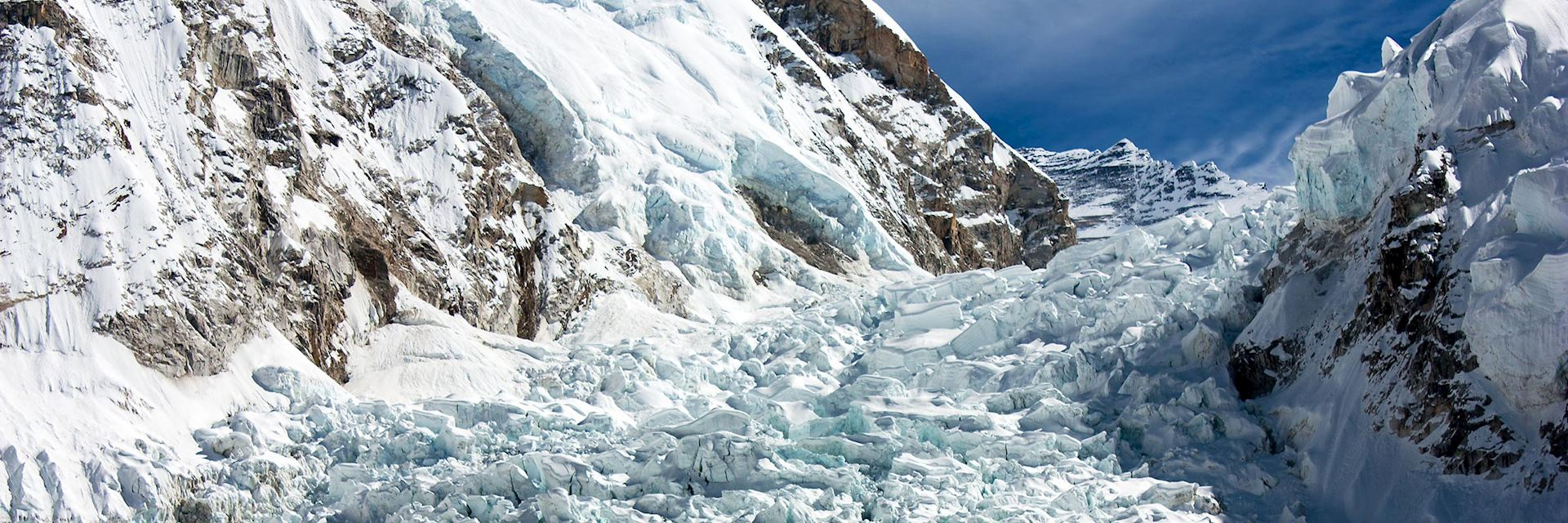 Khumbu Icefall, Everest Base Camp, Nepal