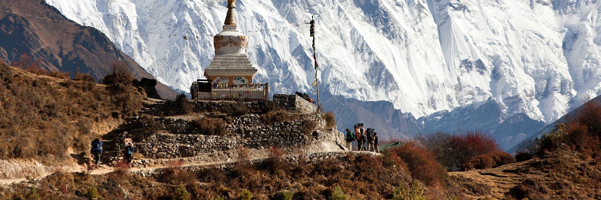 Stupa, Namche Bazar