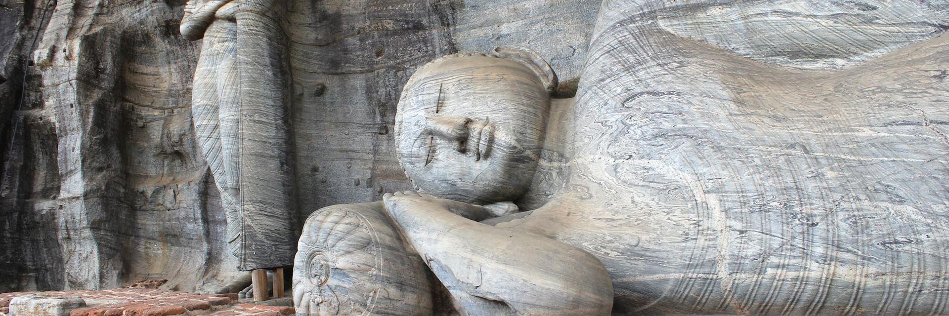 Polonnaruwa buddhas
