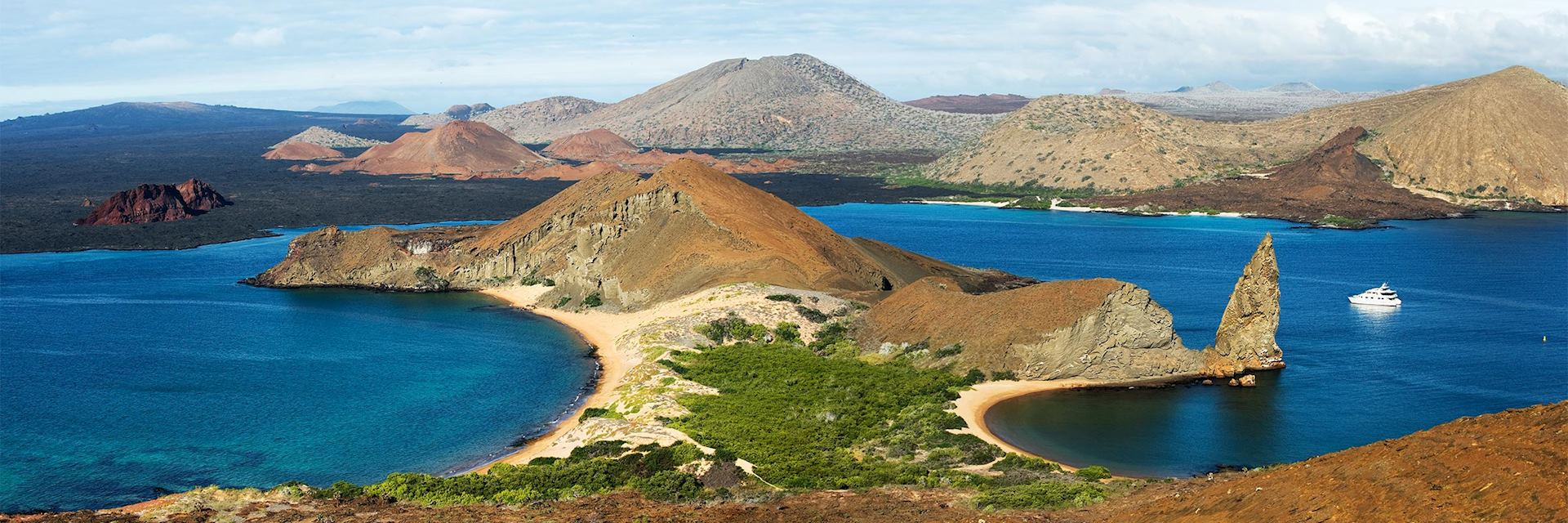 Bartolomé Island in the Galapagos Islands