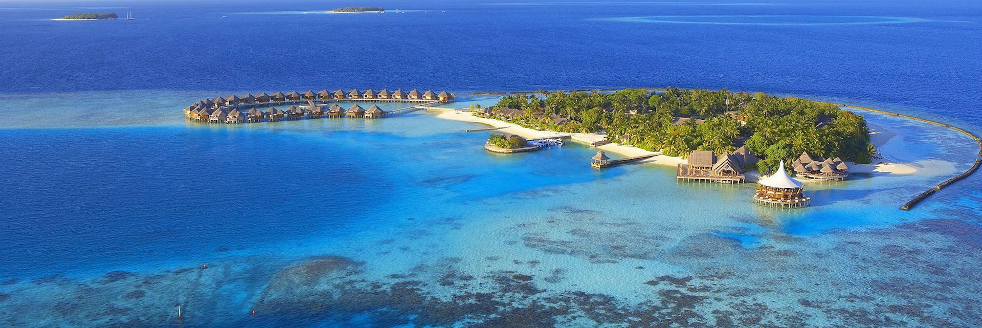 The Baros resort in the Maldives