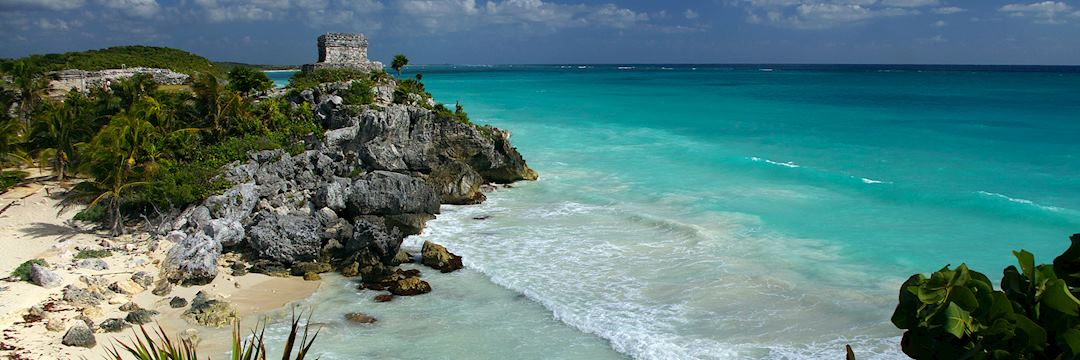 Mayan watch tower, Tulum, Mexico
