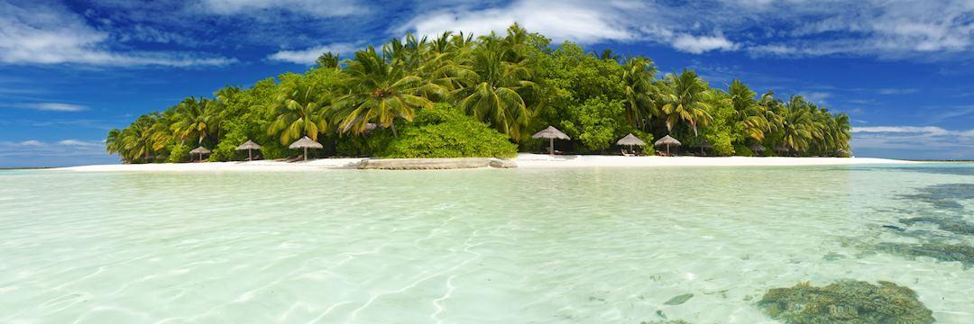 Private island, the Maldives