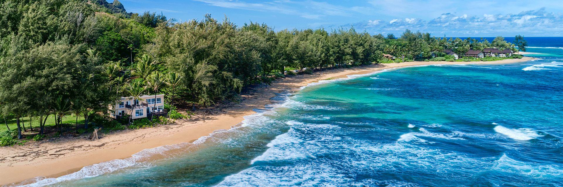 Haena Beach House, Kauai, Hawaii