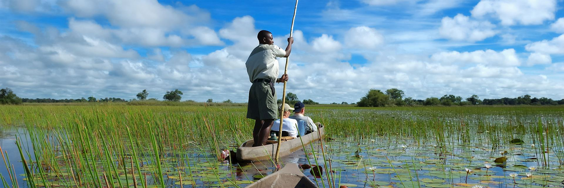 Mokoro trip in Botswana