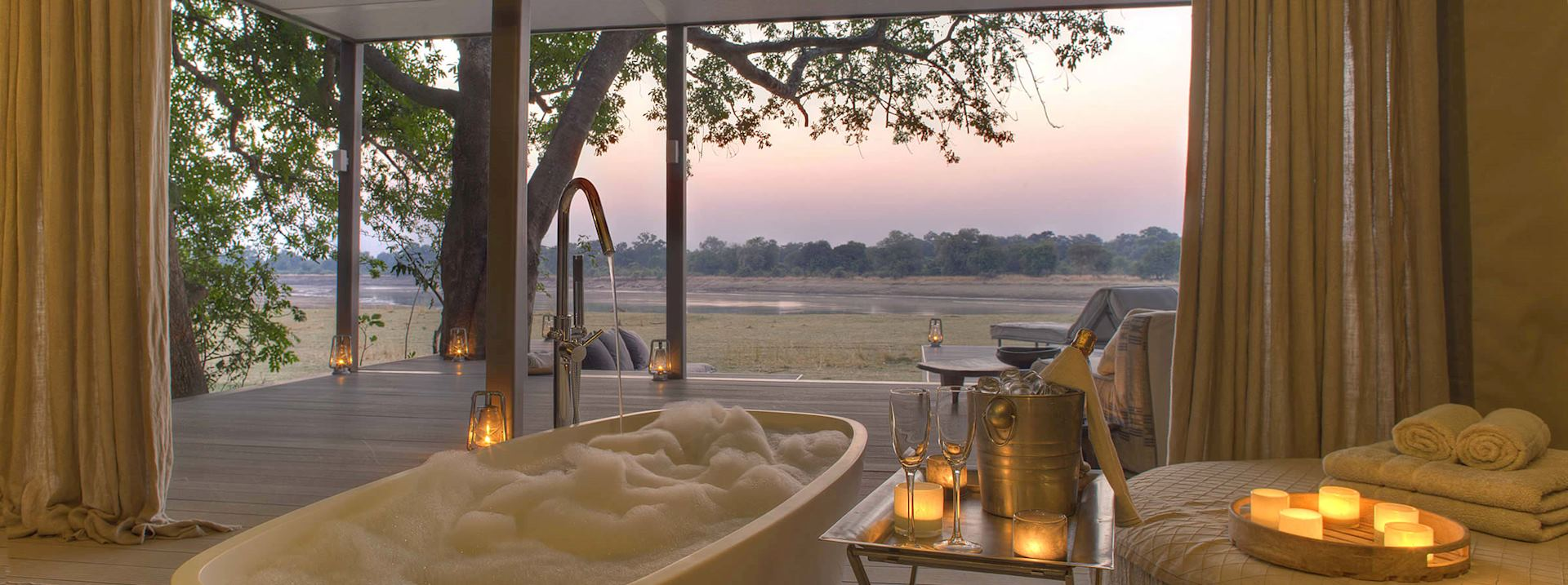 Chinzombo Camp, Zambia