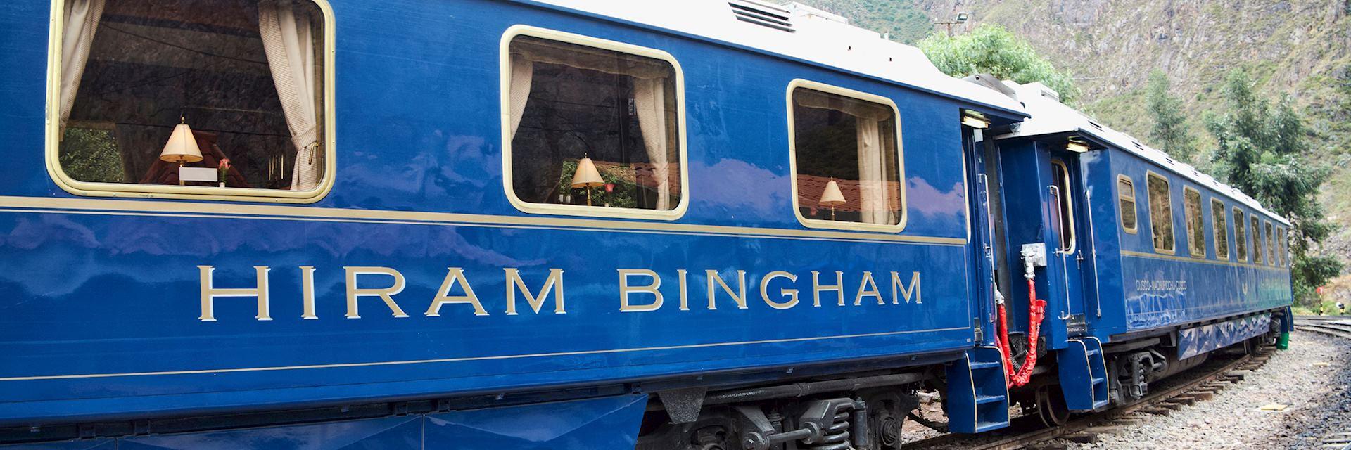 Hiram Bingham train, South America